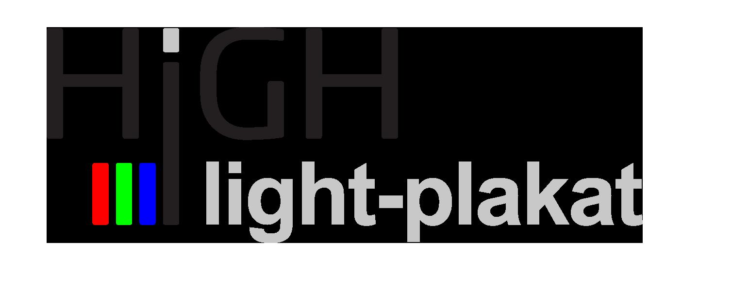 HIGH light-plakat